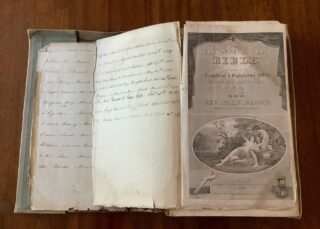 The Murrell family bible in which are recorded the family events from 1830 to 1918 | John Murrell